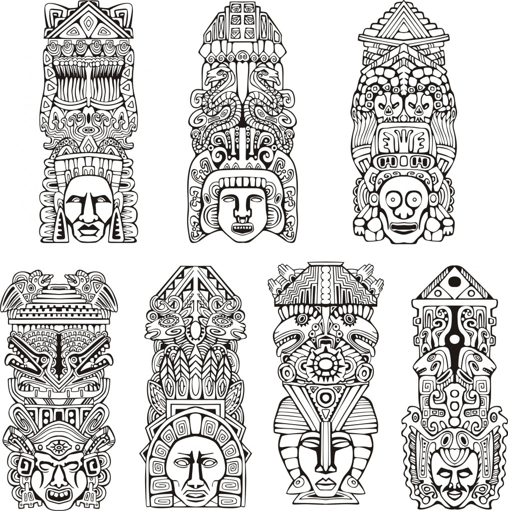 Adult Top Mayan Coloring Pages Images top our new coloring pages gallery mayans incas and aztecs 16668798 xl images