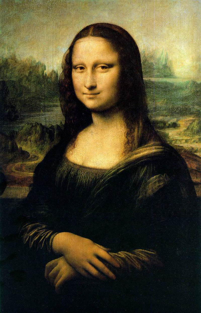 Master pieces  Coloring pages for adults  coloringmonalisa