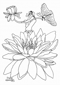 coloring-adult-fairy-in-flower