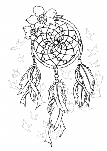 coloring-dreamcatcher-to-print-2