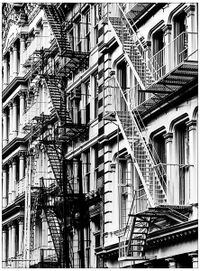 coloring-adult-new-york-stairs