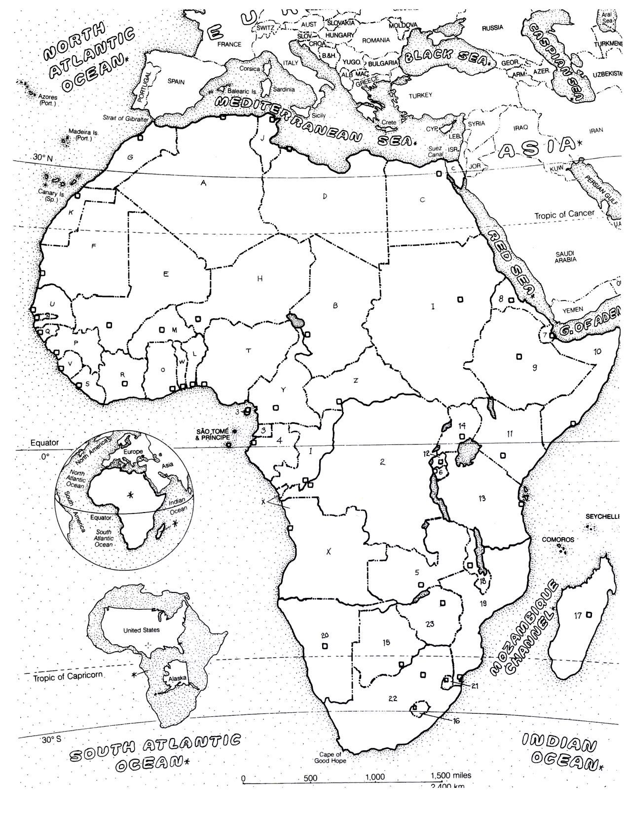 Clip Art Map Of Africa Coloring Page africa coloring pages for adults adult map the of african continentfrom gallery africa