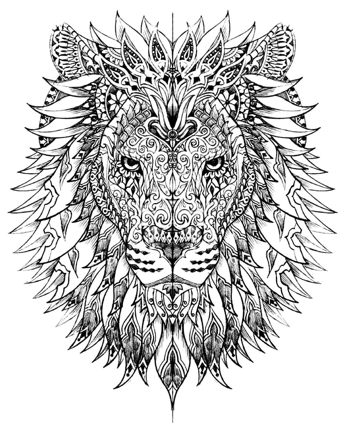 printable difficult coloring pages kids - Difficult Coloring Pages Kids