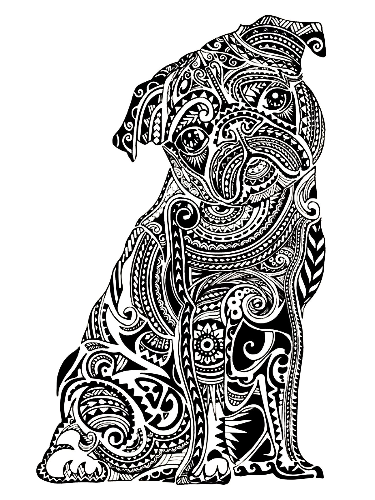 animal coloring pages for adults to print - animals coloring pages for adults coloring adult