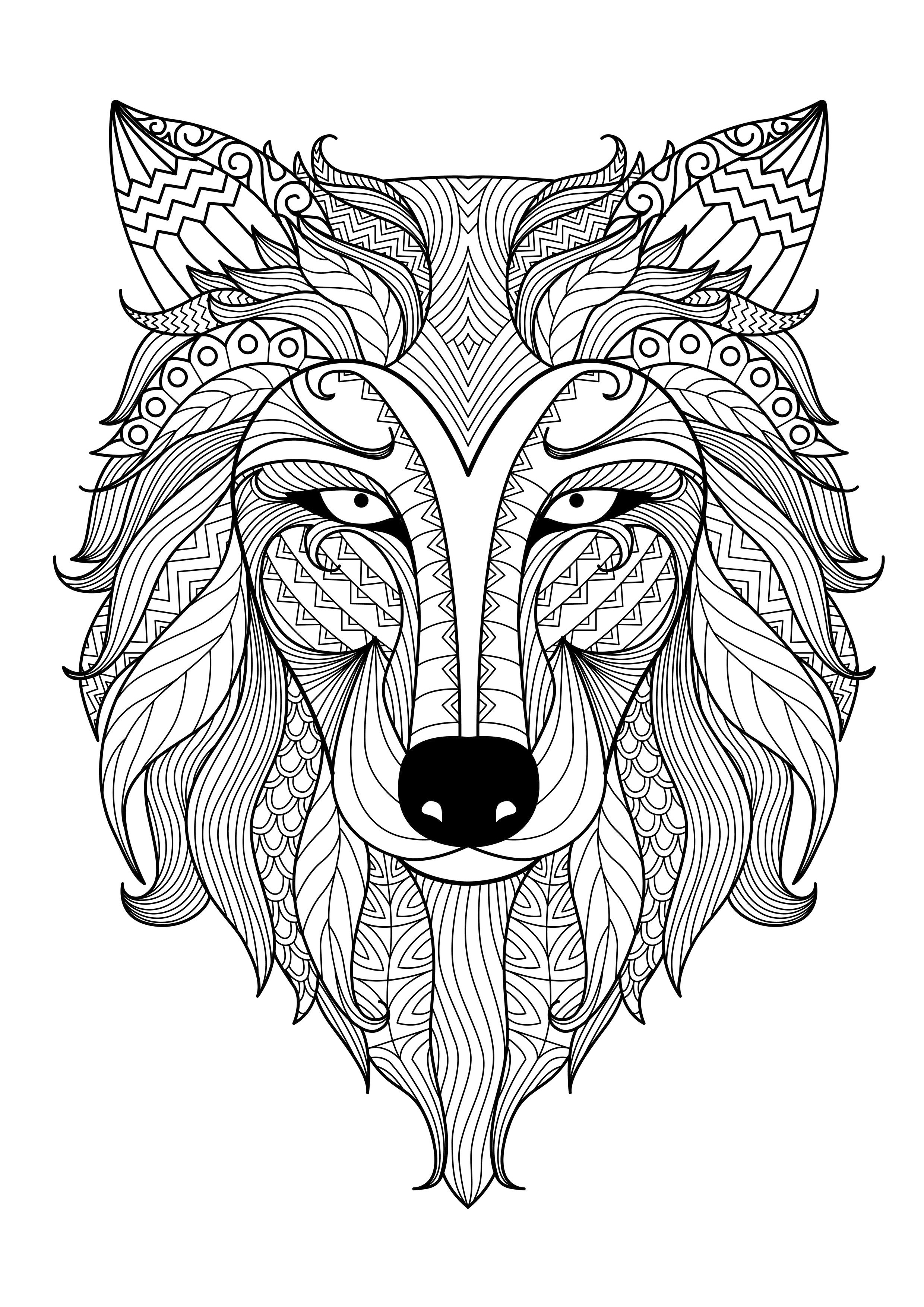 Coloring Pages Coloring Pages Of Animals For Adults adult coloring pages animals futpal com futpal