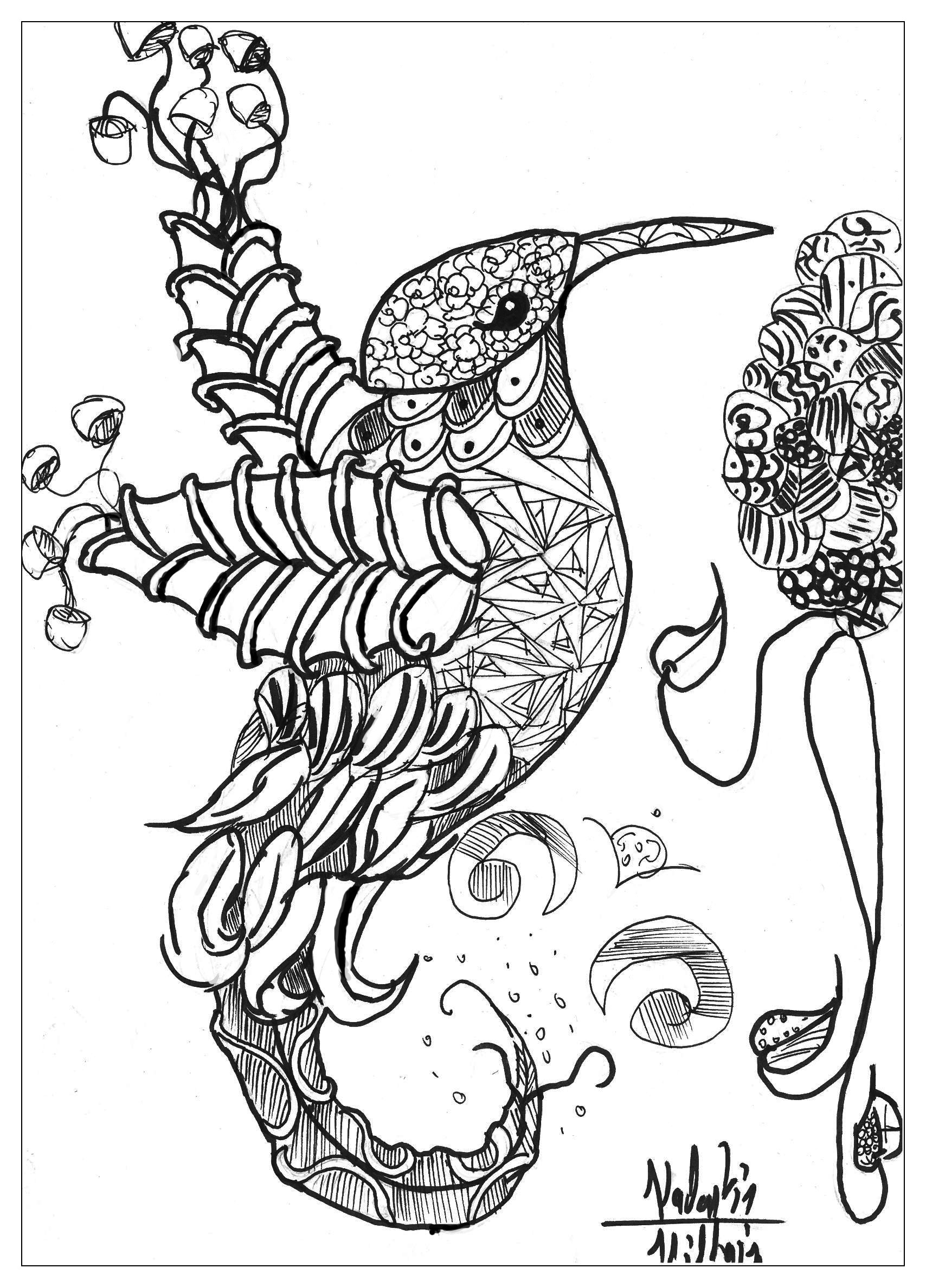 coloring page with animals gallery
