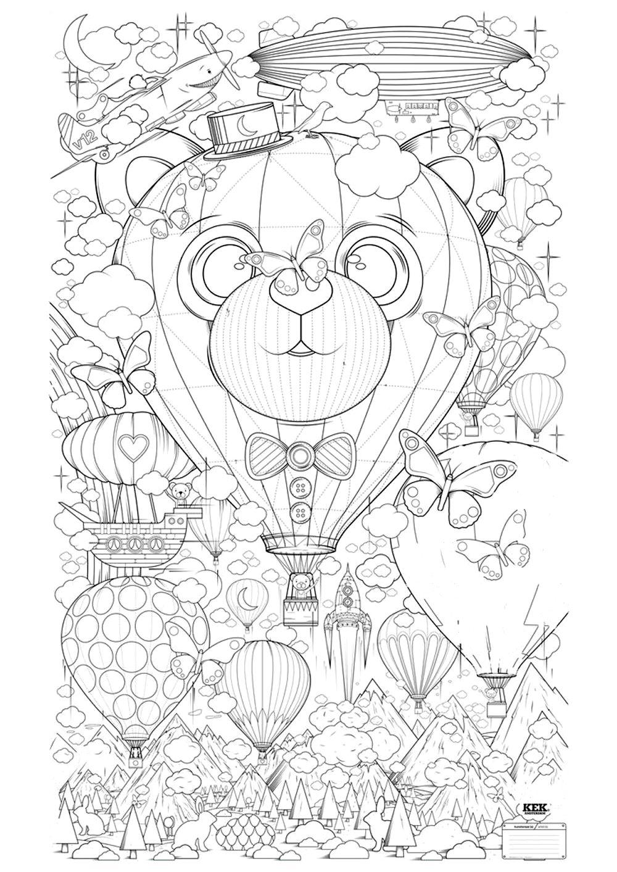 zen coloring nature pages - photo#28
