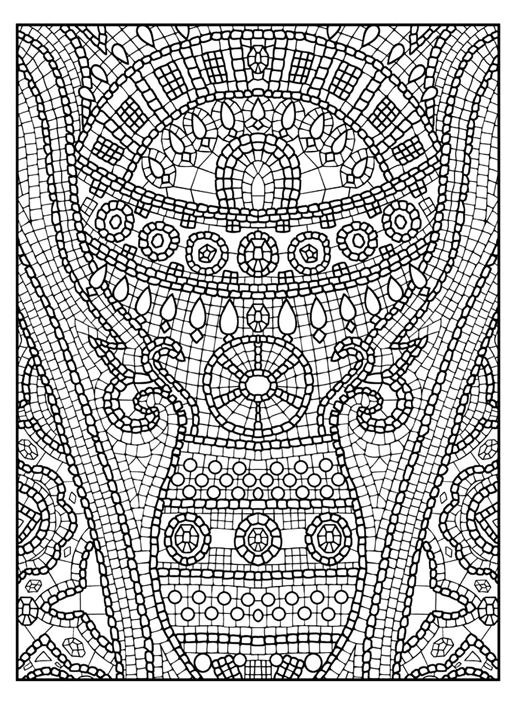 pages for adults : coloring-adult-zen-anti-stress-to-print-11 - Page ...