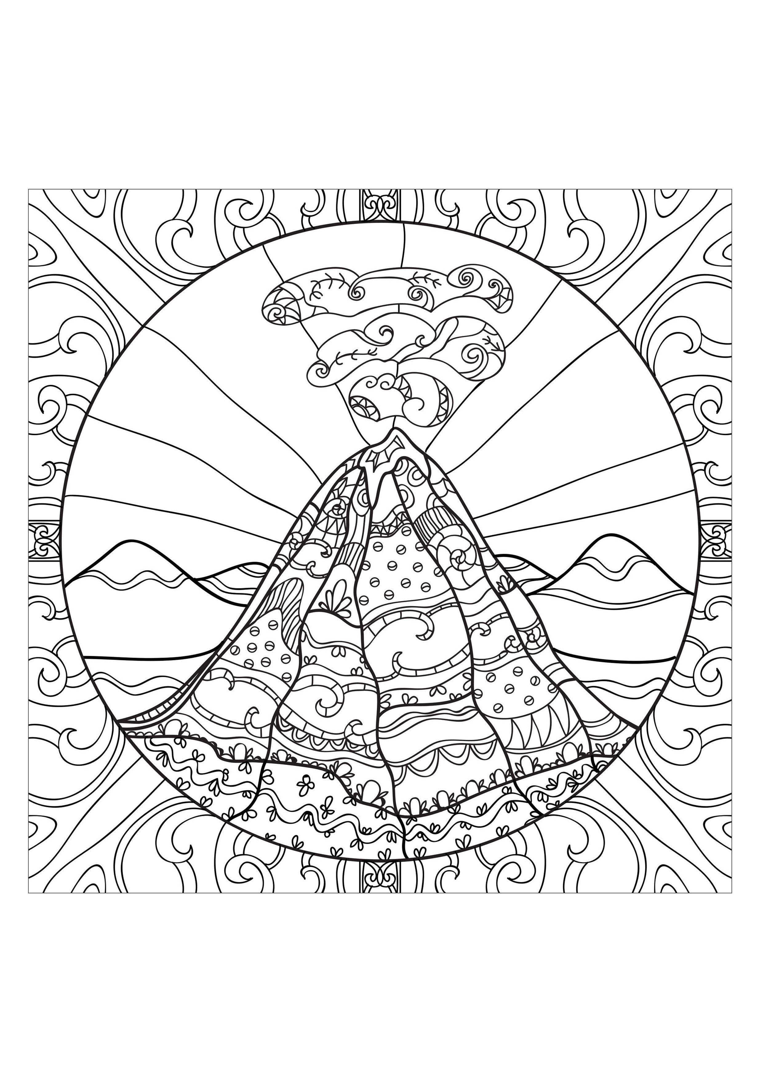 anti coloring book printable pages - photo#22