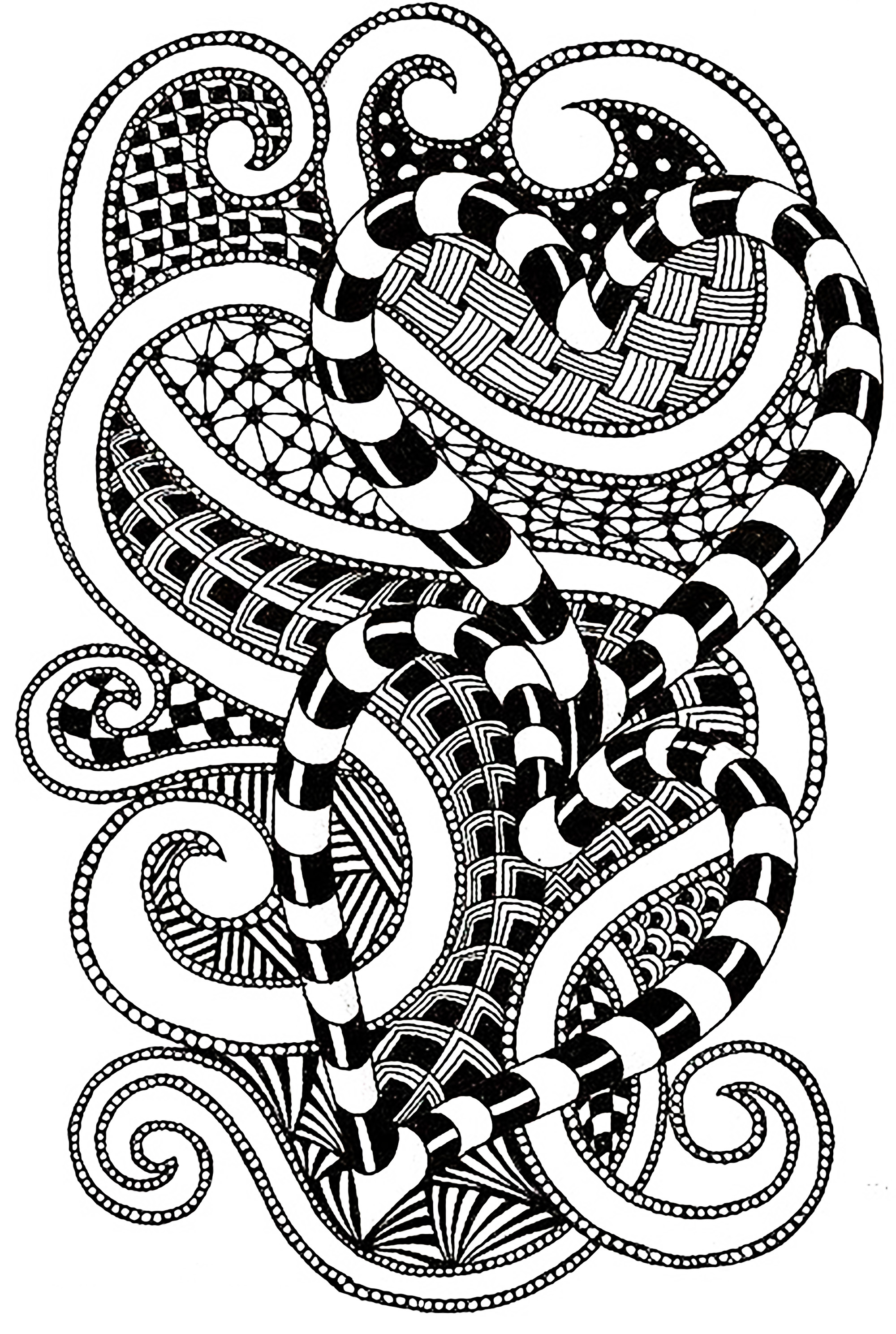 Zen and Anti stress - Coloring pages for adults : coloring ...