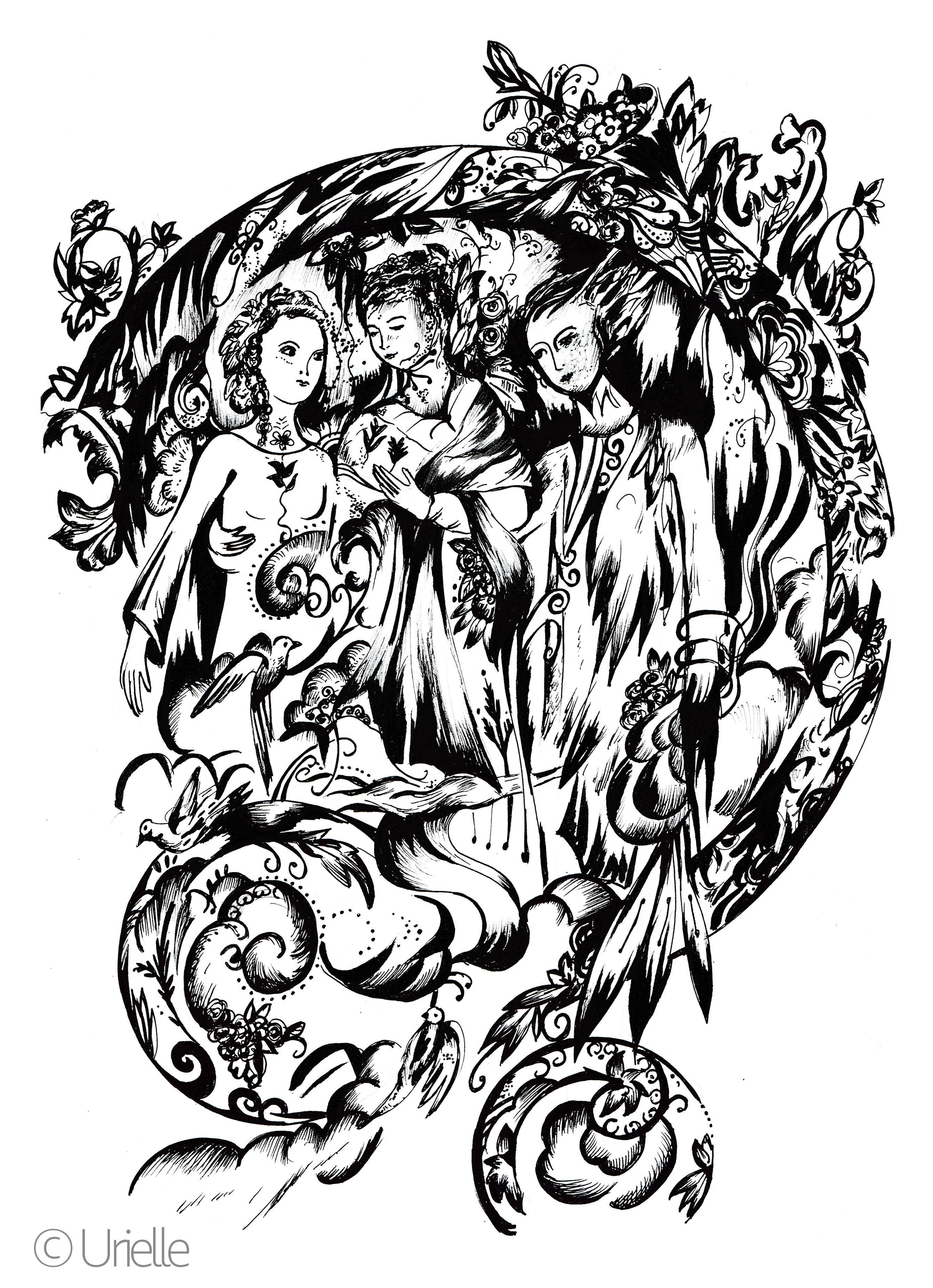 TrinitéFrom the gallery : Zen & Anti StressArtist : Urielle