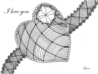 coloriage-love-heart-by-leen-margot free to print