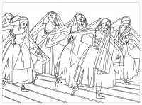 coloring-adult-giselle-ballet-by-marion-c free to print