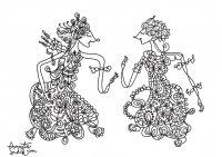 coloring-adult-javanese-doll-7 free to print