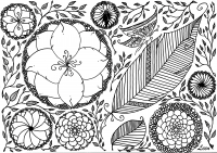 coloring-adult-leen-margot-spring free to print