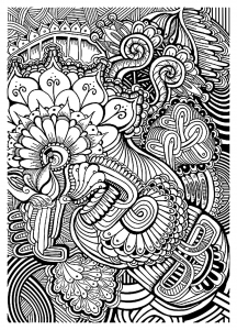 coloring-adult-zen-anti-stress-relax-to-print free to print