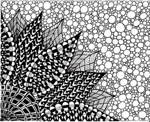 coloring-adult-zen-anti-stress-to-print-big-flower free to print