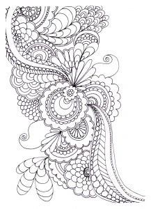 coloring-adult-zen-anti-stress-to-print-drawing-flowers free to print