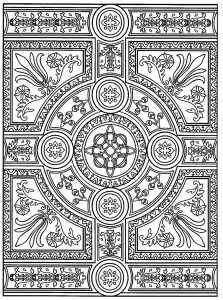 coloring-adult-zen-anti-stress-to-print-parquet-patterns free to print