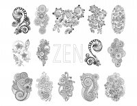 coloring-zen-antistress-abstract-pattern-inspired-by-flowers-full-set-by-juliasnegireva free to print