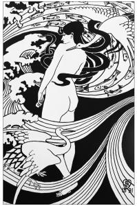coloring-adult-art-nouveau-robert-burns-drawing-1891 free to print