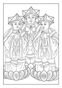 coloring-page-india-celine free to print