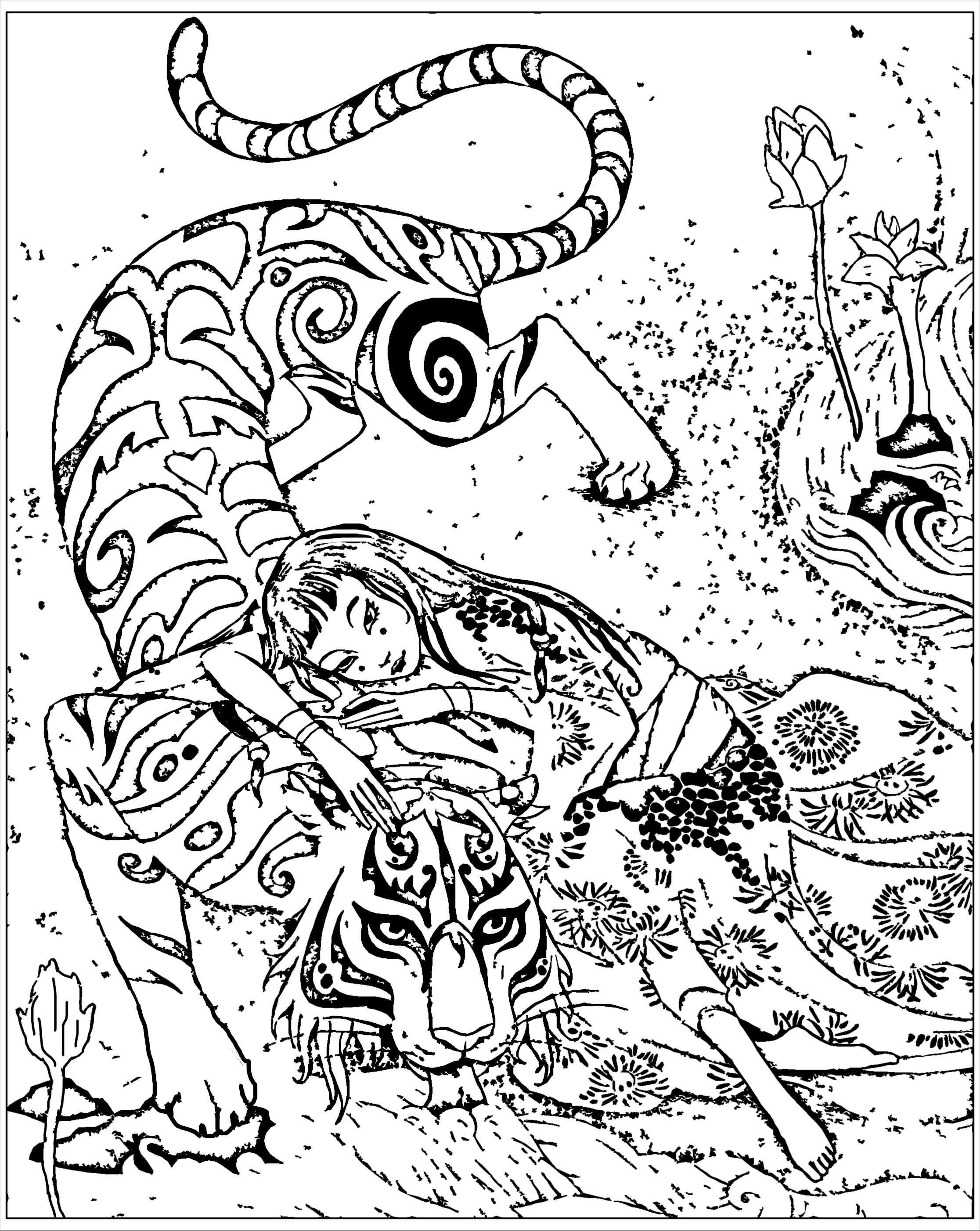 China amp Asia Coloring pages for