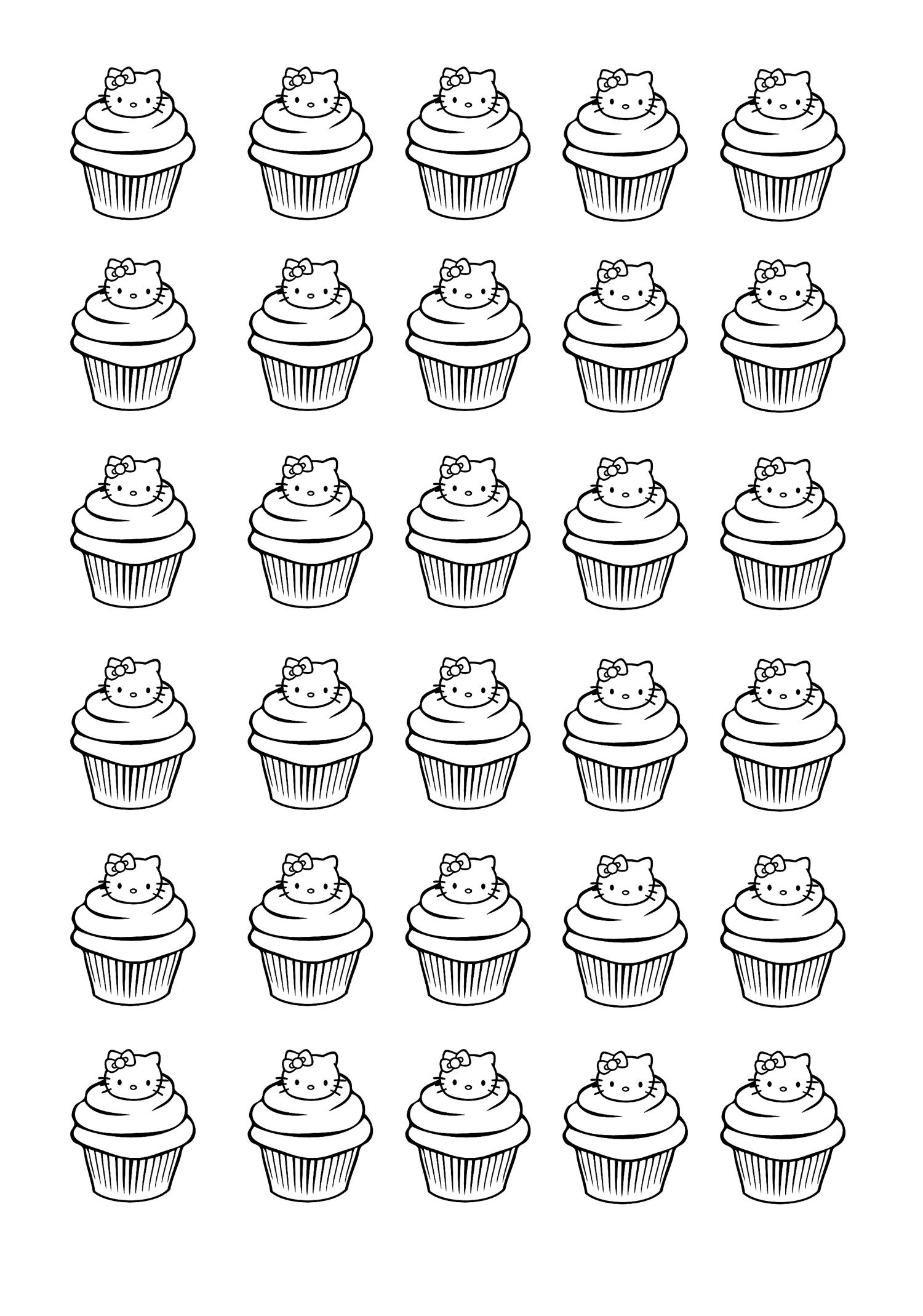 cup cakes coloring pages for adults coloringcupcakes