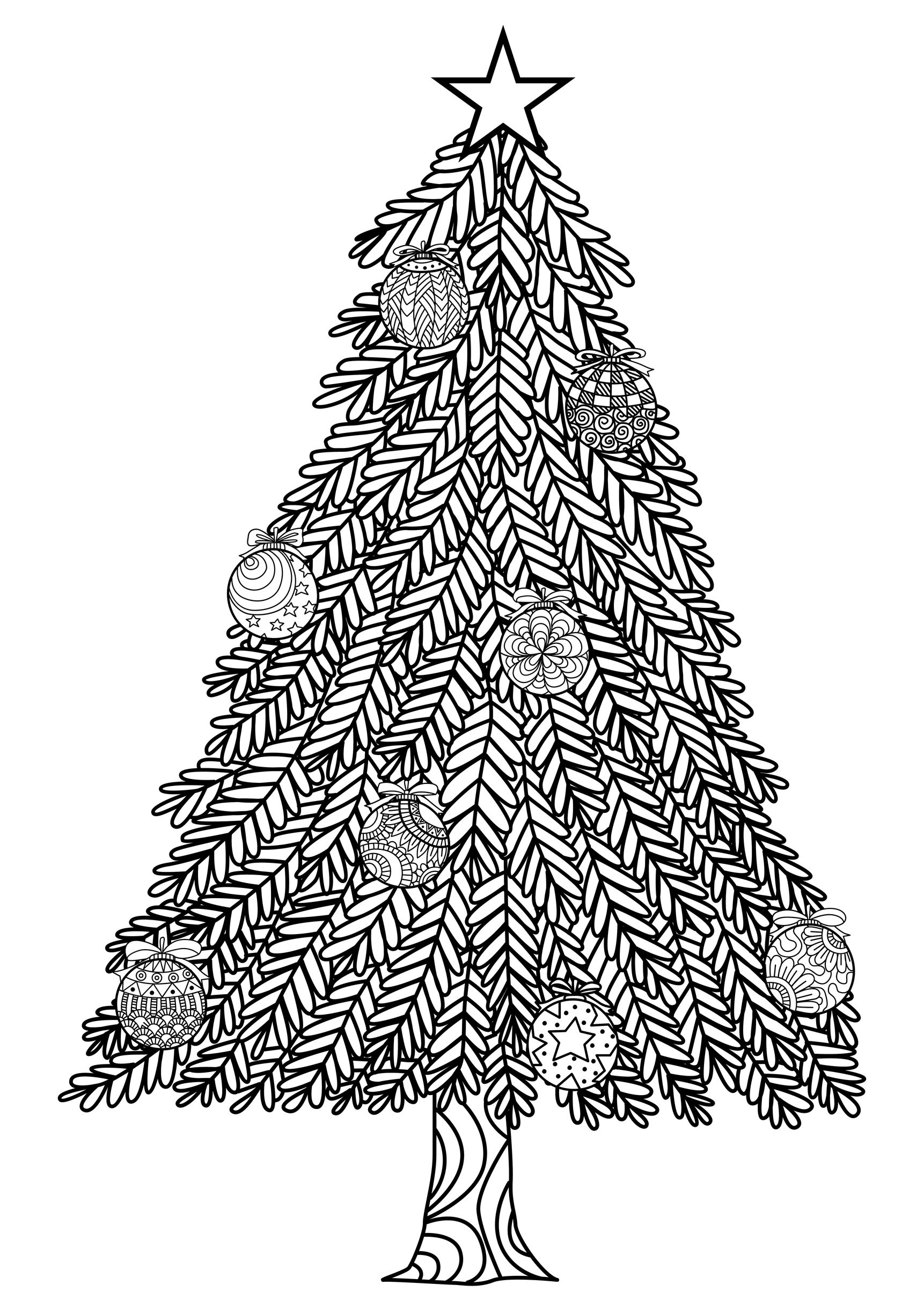 Christmas Coloring Pages For Adults Coloring Adult Ornaments Coloring Pages For Adults