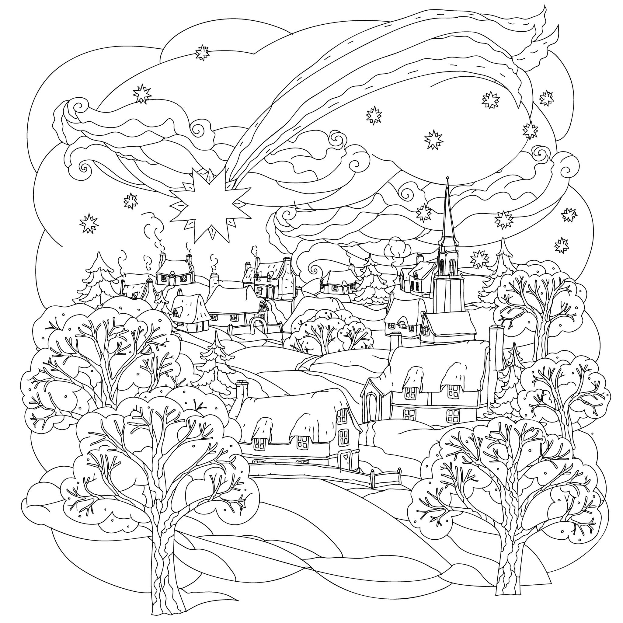 Coloring Pages Winter Coloring Pages For Adults winter coloring pages adults futpal com 1000 images about adult on pinterest thanksgiving