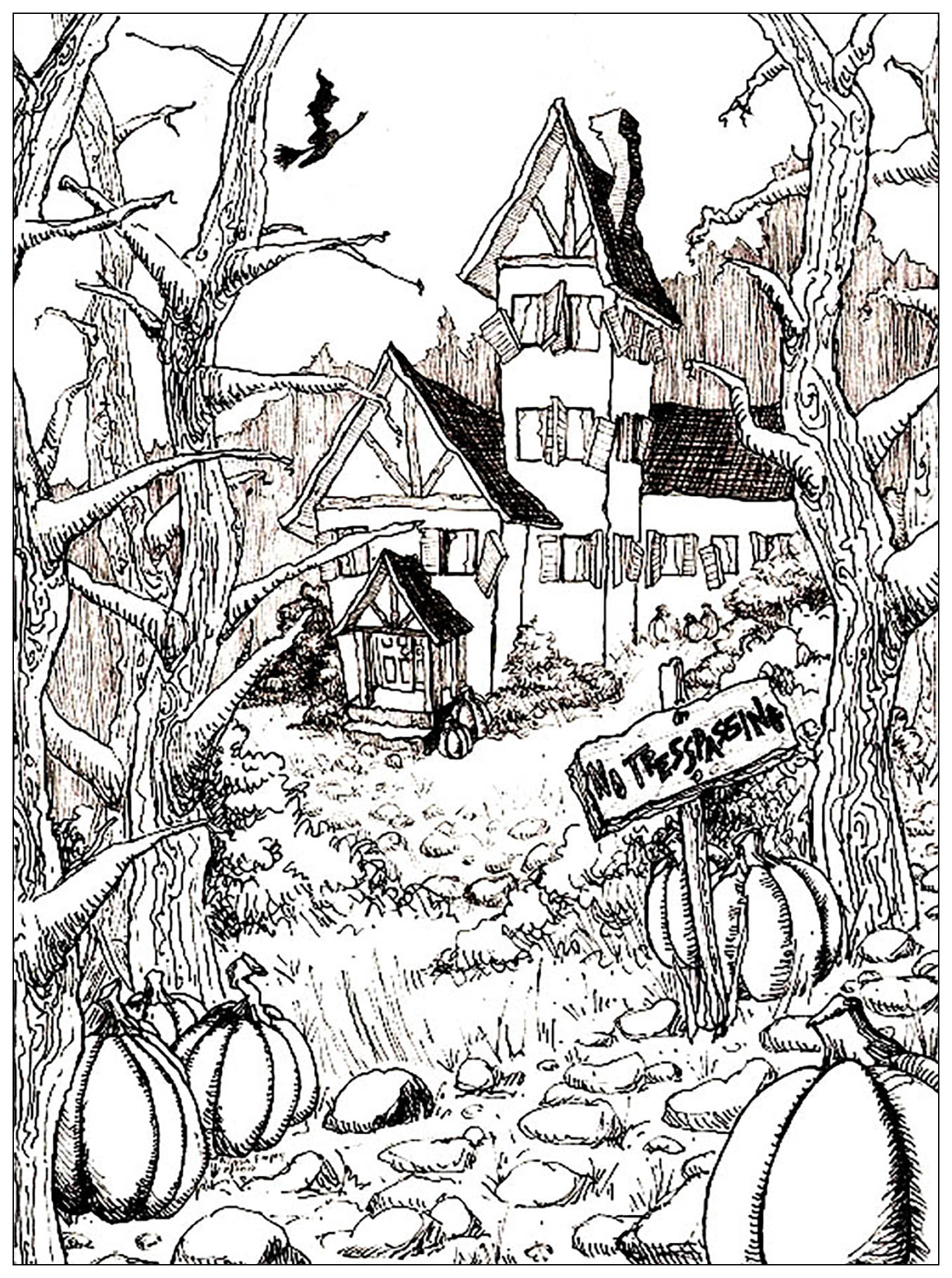 halloween house coloring pages free halloween coloring pages halloween house coloring pages free halloween coloring pages