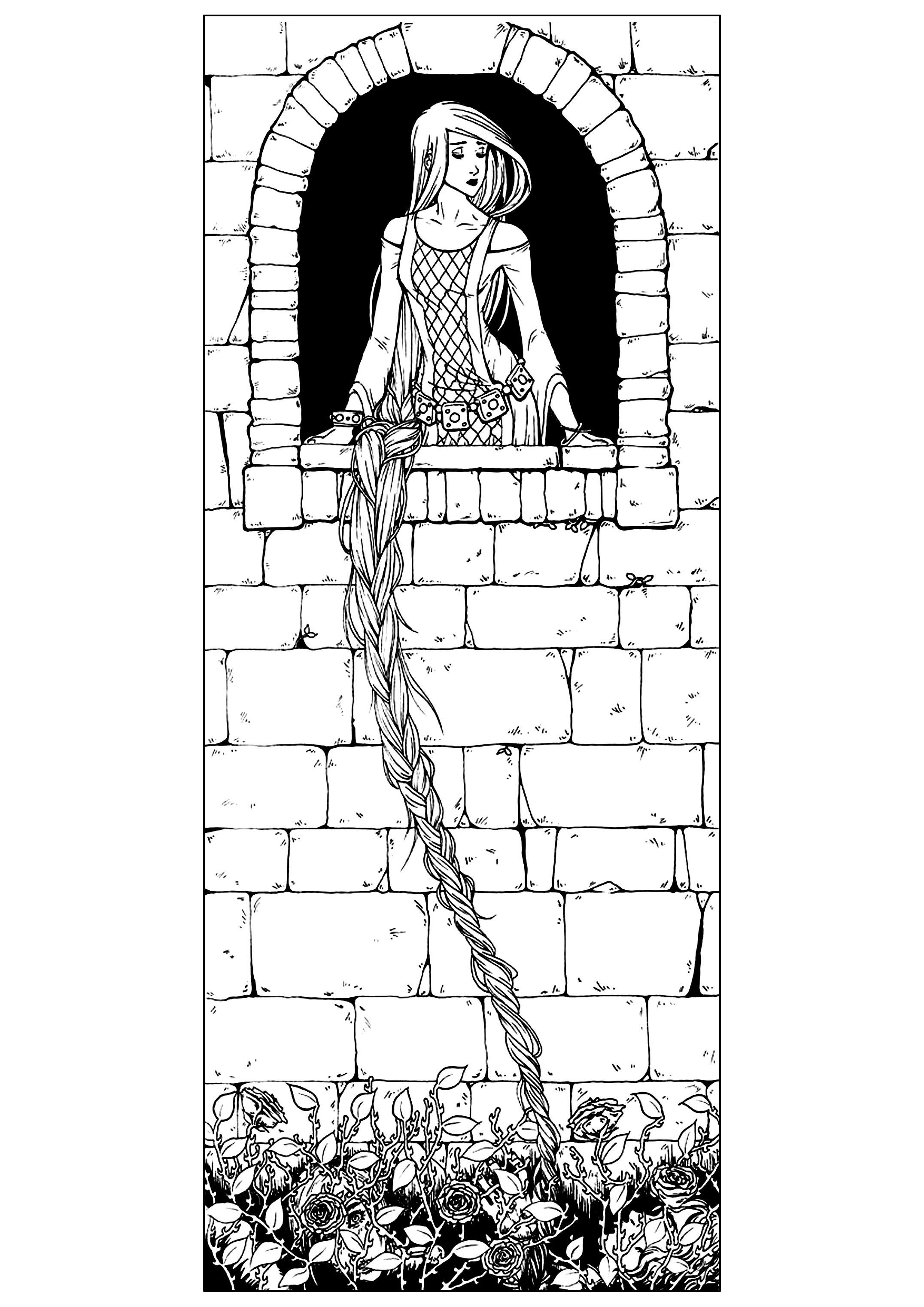 Fairy tales Coloring pages for adults coloringadult