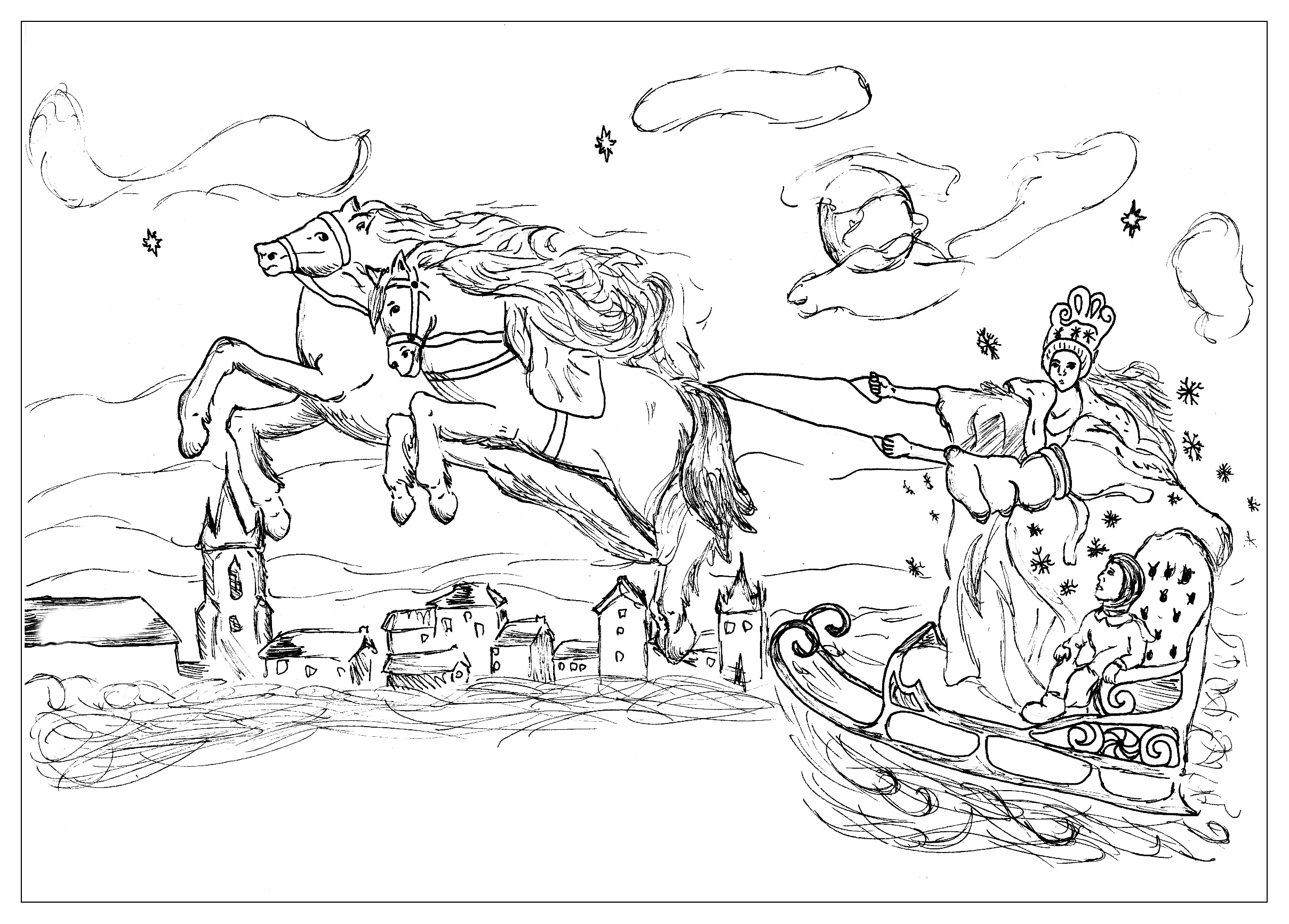 Coloring pages 3 billy goats gruff - Awesome Fairy Tale Coloring Pages To Print Printable Coloring Pages For With Three Billy Goats Gruff Coloring Pages