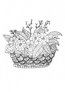 coloring-page-adults-basket-celine free to print