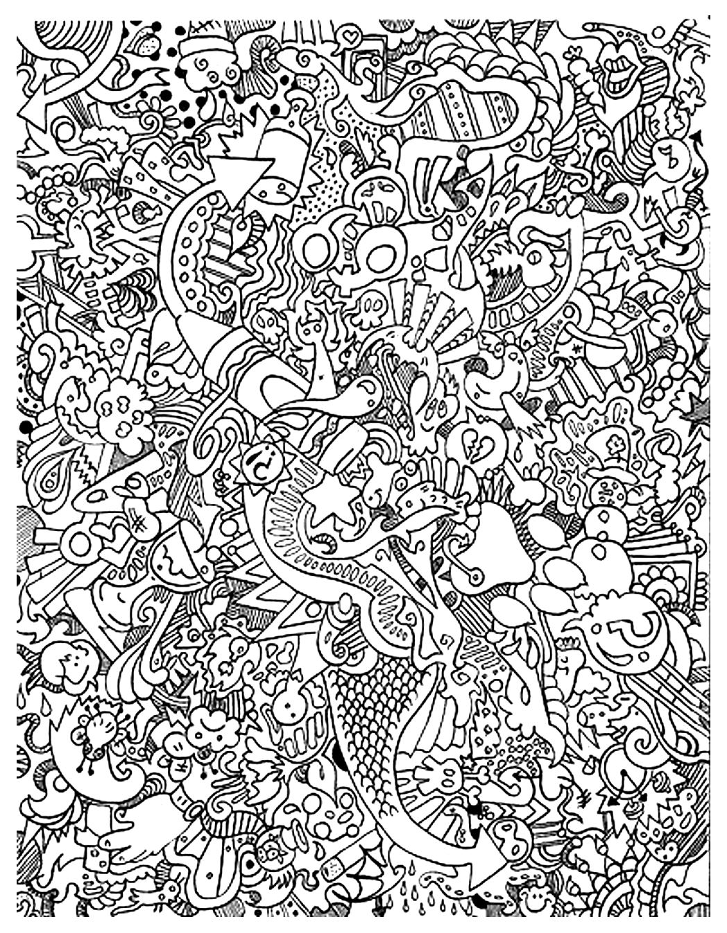 Unclassifiable Coloring Pages For Adults Coloring Unclassifiable Coloring Page