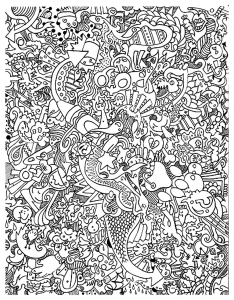 coloring-adult-big-mess free to print