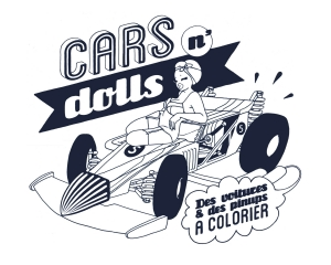 coloring-cars-n-dolls free to print