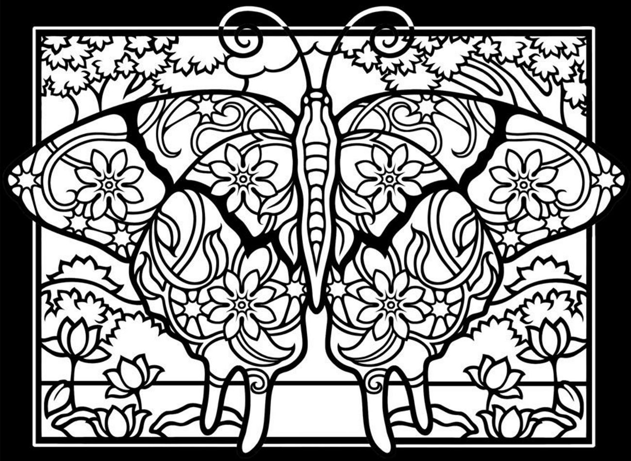 Insects Coloring pages for adults