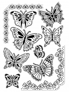 coloring-adult-difficult-butterflies-vintage free to print