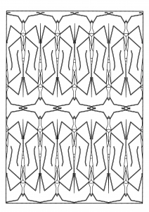 coloring-adult-stick-insect free to print