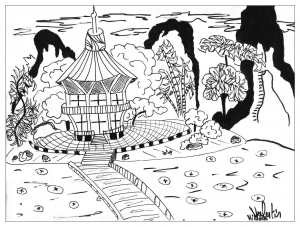 coloring-page-adults-japan-valentin free to print