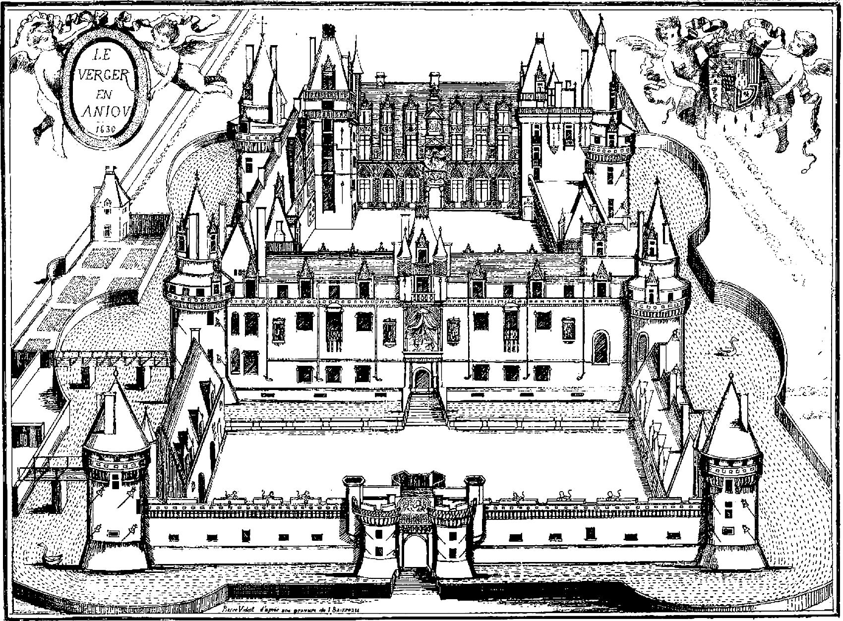 Coloring Pages For Adults Castle : Royal coloring pages for adults castle verger