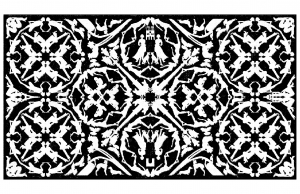 coloring-adult-royal-tapestry free to print