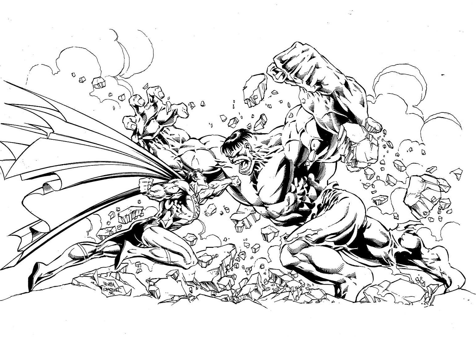 Comic Book Characters Coloring Pages Marvel Superhero