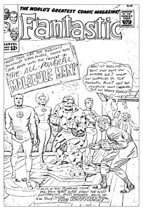coloring-adult-comics-fantastic-for-unreleased-cover-1963 free to print