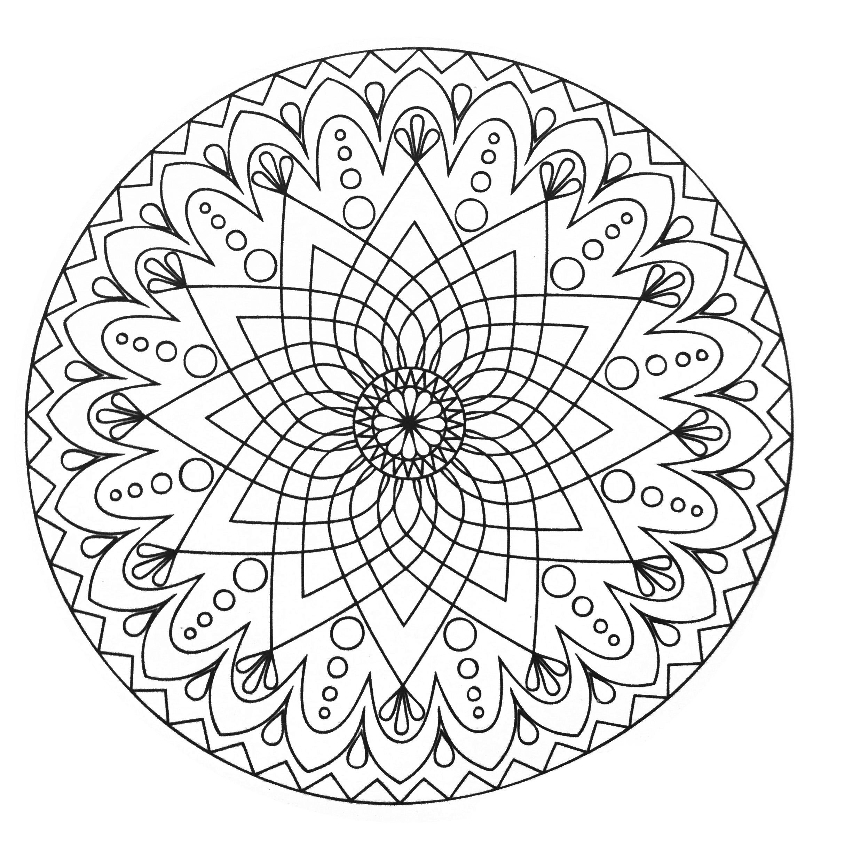 mandalas coloring pages for adults coloring mandala