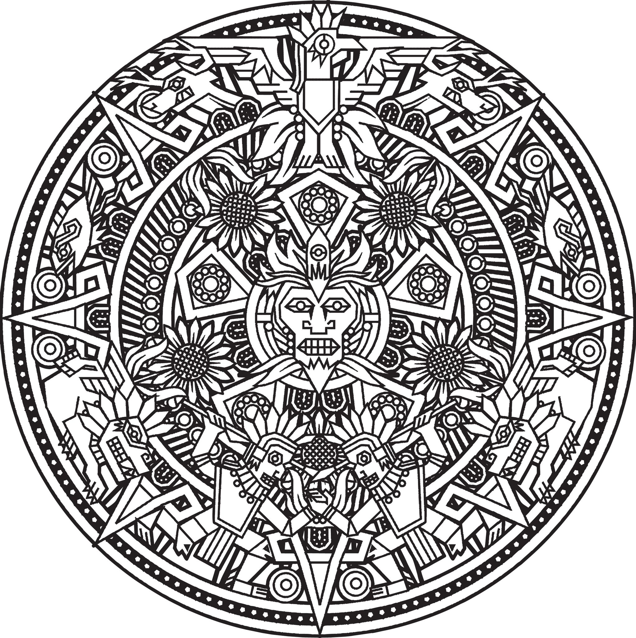 coloring pages art deco gallery