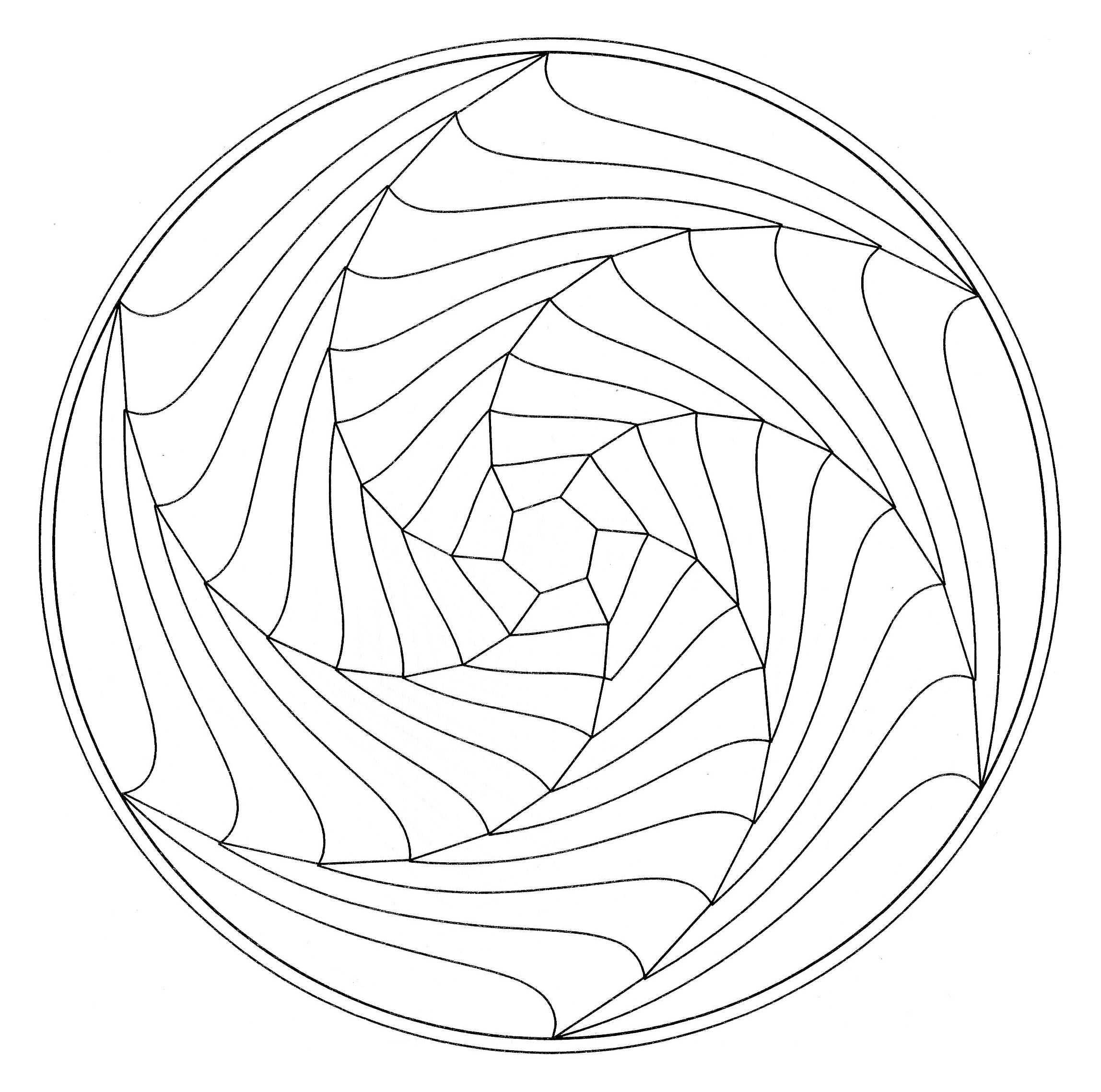 free optical art coloring pages - photo#26