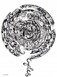 coloring-urielle-mandala-cycles free to print