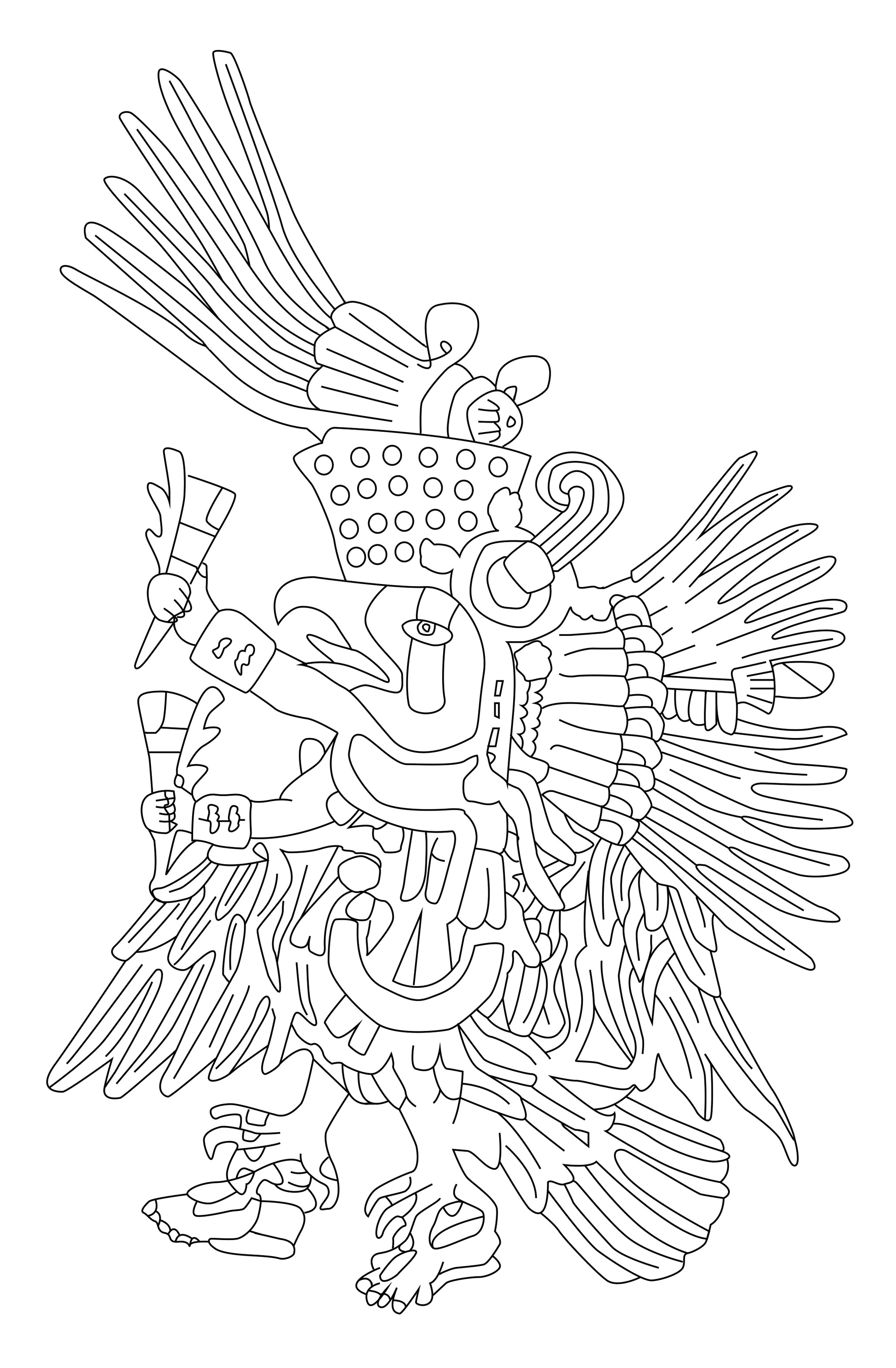 Mayans Amp Incas Coloring Pages For Adults Coloring Page